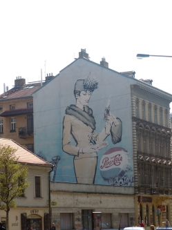 Wall of Prague