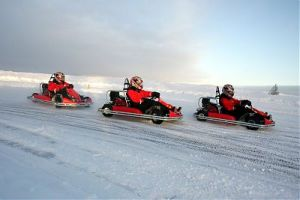 Finland Ice Karting