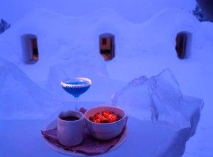 Finland Snow Restaurant