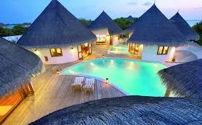 Maldives Huts