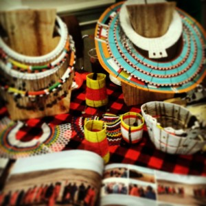 Tanzanian Display at NY Travel Fest